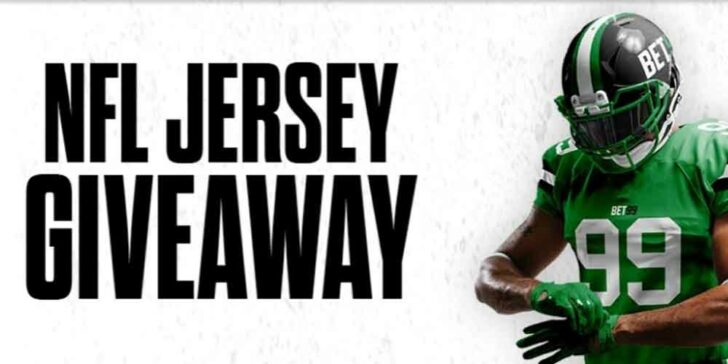 Win Free NFL Jersey: Make a Deposit of at Least $20 during September