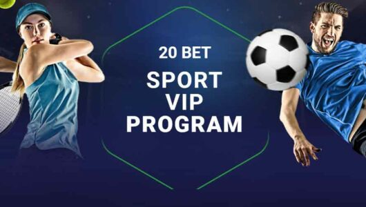 20bet Sports VIP Program: Exchange Cp for Freebets up to 5000 EUR