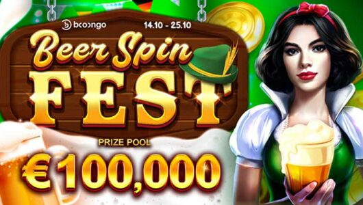 Beer Spin Fest Tournament: Win a Share of the €100,000 Prize Fund!