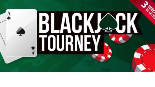 October Blackjack Tourneys: Win the Top Prize of $1,000.00!