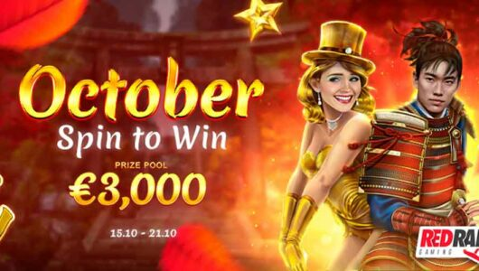 October Tournament Online: Get Your Share of the €3,000 Prize Fund!