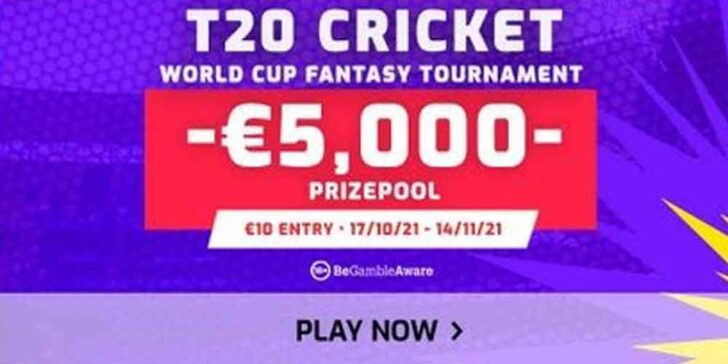 T20 Cricket World Cup Betting Promotions – Win up to €5K at FanTeam!