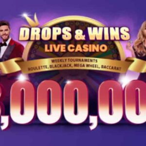 Weekly Live Casino Promotion: Win Your Share of €3,000,000